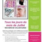 gribelbauer sarah : Recherche urgente de participants pour étude en psychologie